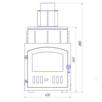Схема печи ПБ-2